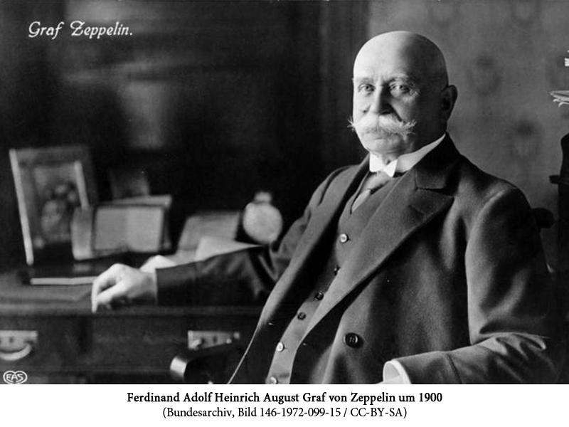 Pionier der Luftfahrt: Ferdinand Graf von Zeppelin